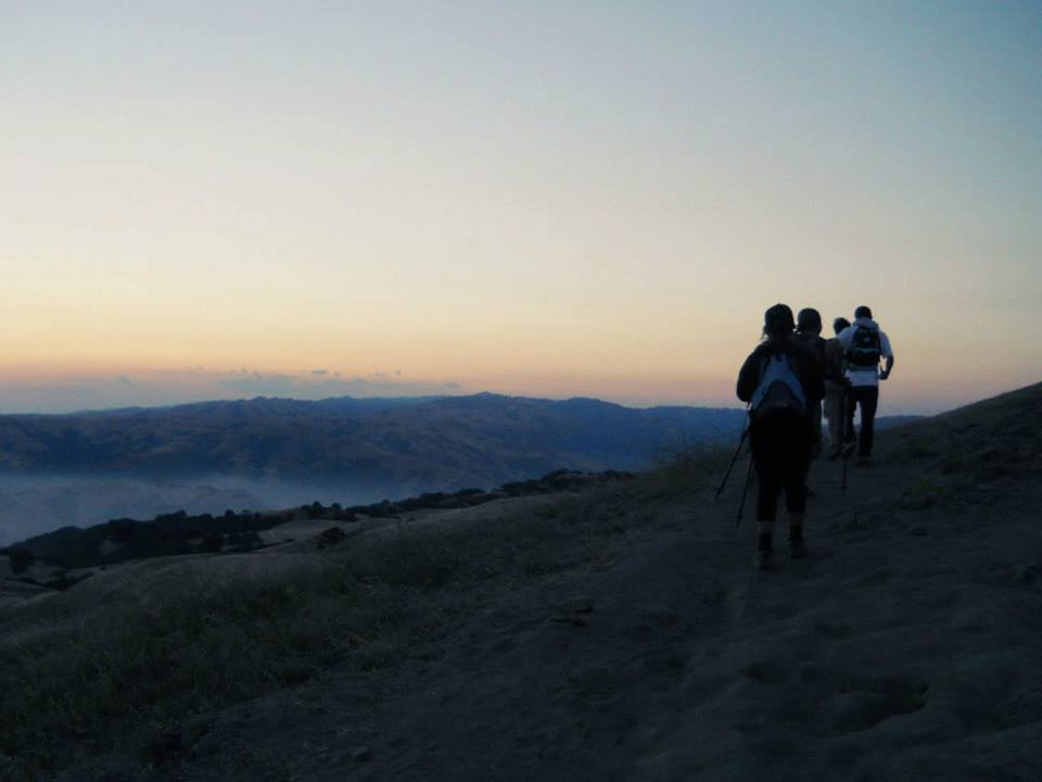 mission peak_sunrise_road