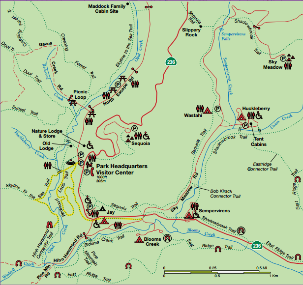 big basin hiking map2