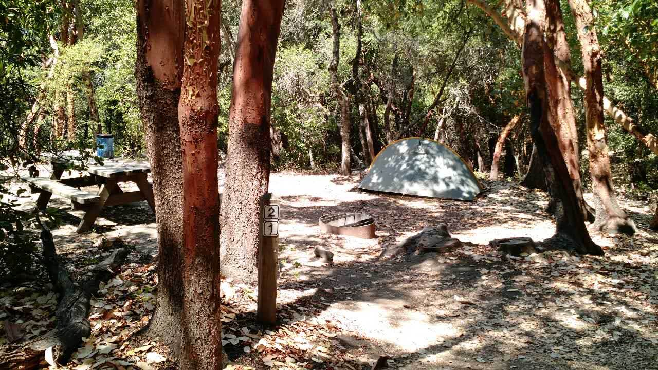 castle rock state park camp