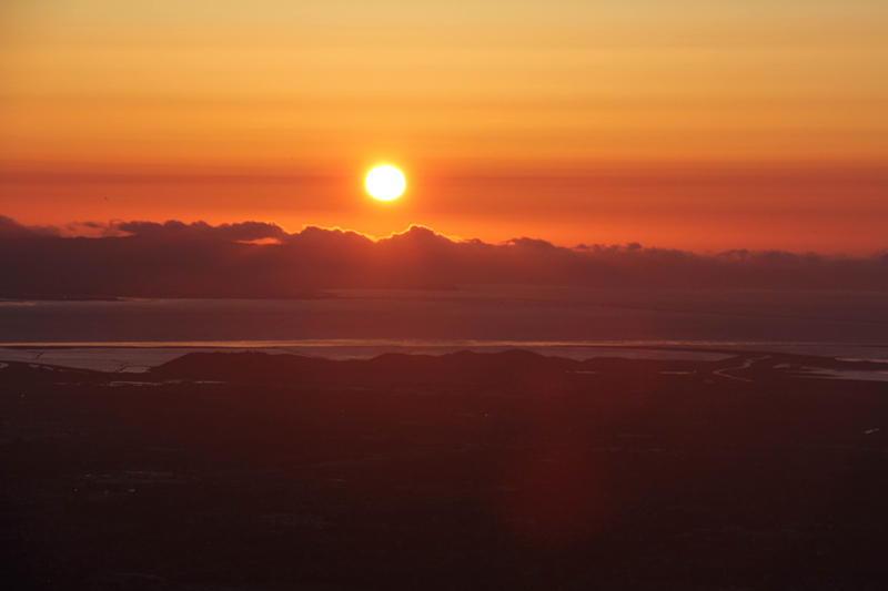 mission peak sunset8291