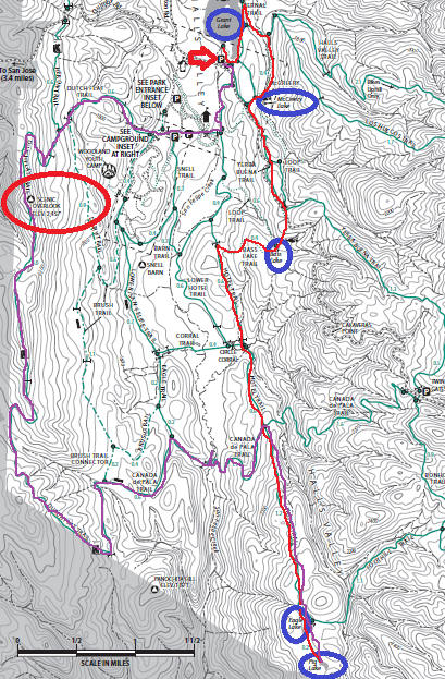 Joseph Grant County Park_trail map