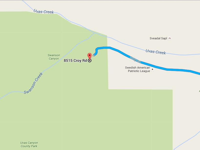 Uvas Canyon County Park_parking map