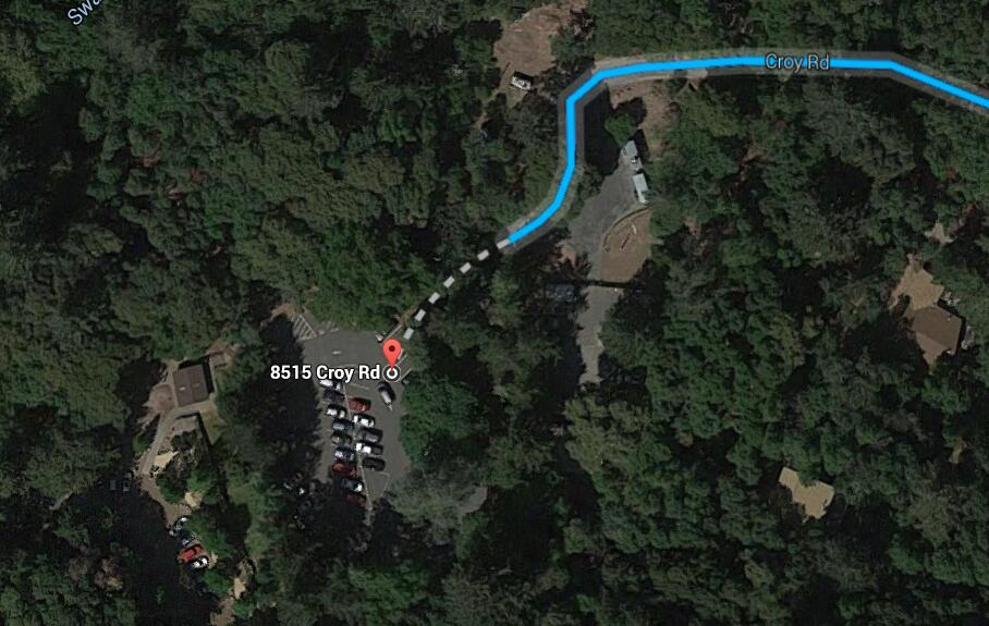 Uvas Canyon County Park_parking