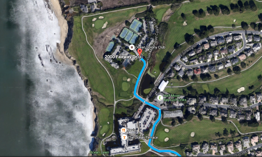 Half Moon Bay golf links_parking2