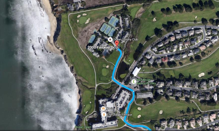 Half Moon Bay golf links_parking2