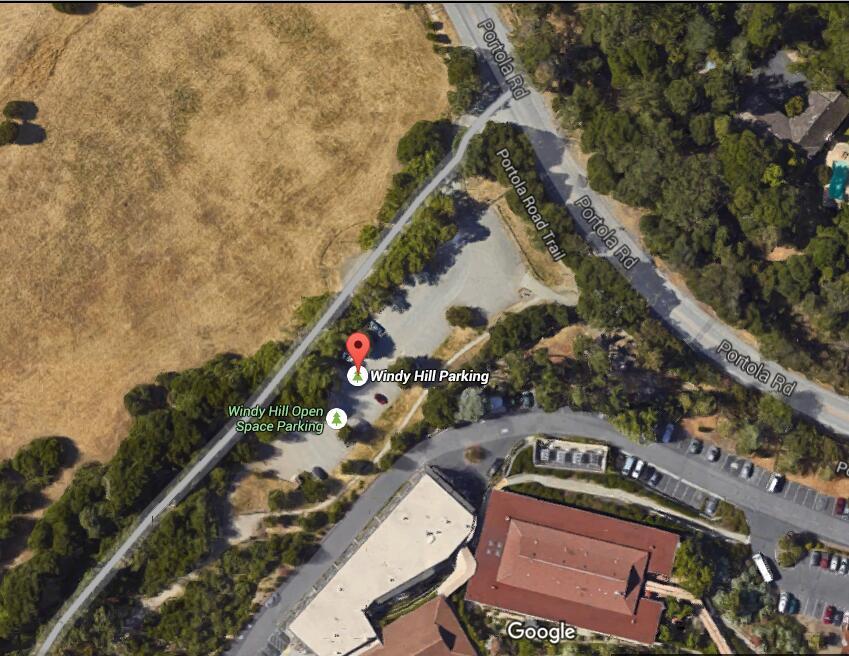 windy hill preserve_parking lower