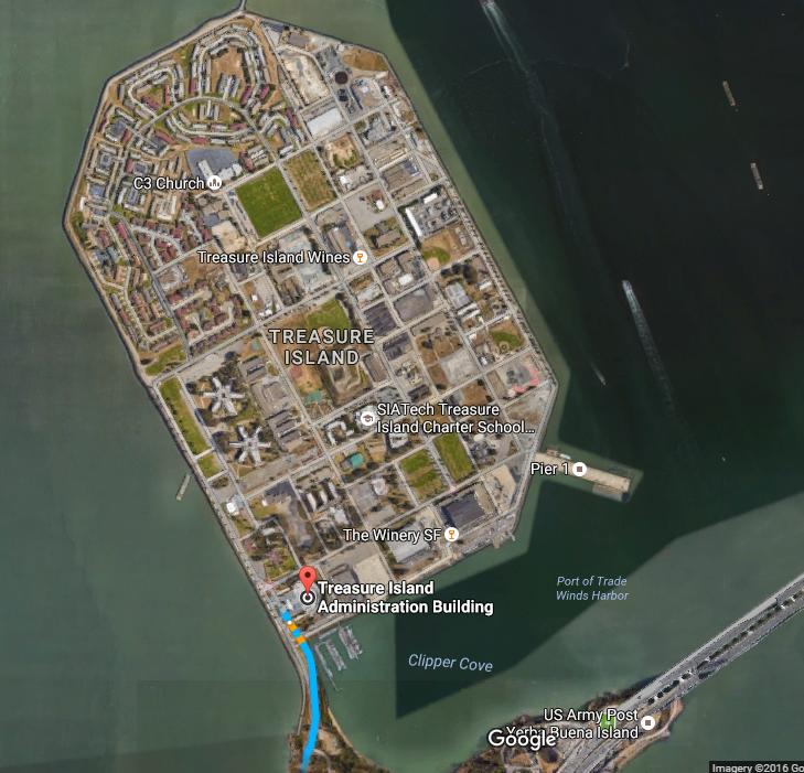Treasure Island_parking