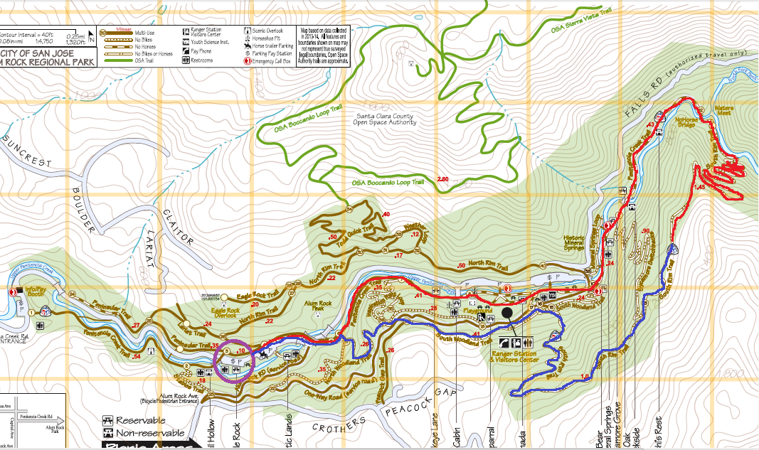 Alum Rock Park_trail map